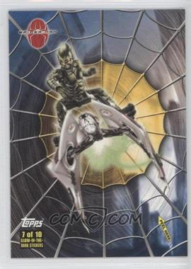 2002 Topps Spider-Man: The Movie - Glow-in-the-Dark Stickers #7 - Green Goblin