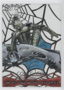 2002 Topps Spider-Man: The Movie - Web-Shooter Clear Cards #C4 - Green Goblin