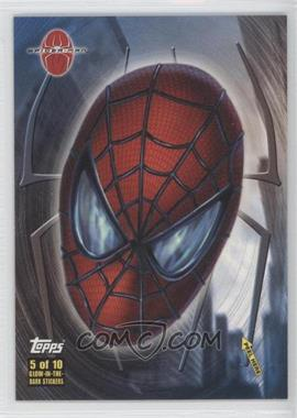 2002 Topps Spider-Man: The Movie Glow-in-the-Dark Stickers #5 - Spider-Man