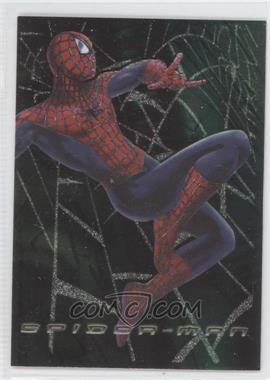 2002 Topps Spider-Man: The Movie Web Tech Foil #F3 - Spider-Man
