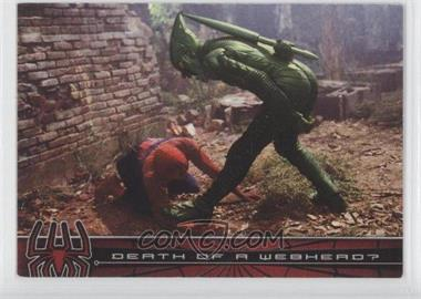 2002 Topps Spider-Man: The Movie #77 - Death of a Webhead