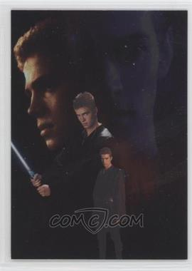 2002 Topps Star Wars: Attack of the Clones - Silver Foil #3 - Anakin Skywalker