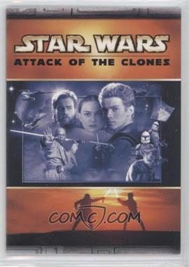 2002 Topps Star Wars: Attack of the Clones Panoramic Fold-Out #3 - Light Side