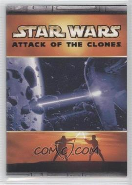 2002 Topps Star Wars: Attack of the Clones Panoramic Fold-Out #5 - Space Battle