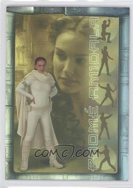 2002 Topps Star Wars: Attack of the Clones Prismatic Foil #5 - Padme Amidala