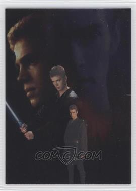 2002 Topps Star Wars: Attack of the Clones Silver Foil #3 - Anakin Skywalker