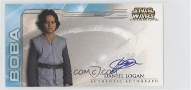 2002 Topps Star Wars: Attack of the Clones Widevision Autographs #NoN - Daniel Logan as Boba Fett