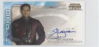 2002 Topps Star Wars: Attack of the Clones Widevision Autographs #NoN - Jay Laga'aia as Captain Typho