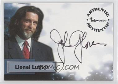 2003 Inkworks Smallville Season 2 Authentic Autographs #A11 - John Glover as Lionel Luthor