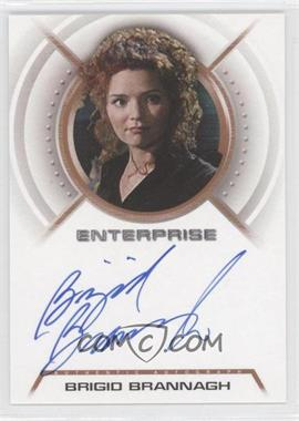 2003 Rittenhouse Star Trek: Enterprise Season 2 - Autographs #A14 - Brigio Brannagh