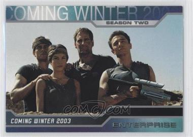 2003 Rittenhouse Star Trek: Enterprise Season 2 - Promos #P1 - [Missing]