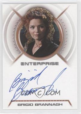 2003 Rittenhouse Star Trek: Enterprise Season 2 Autographs #A14 - Brigio Brannagh