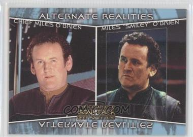 2003 Rittenhouse The Complete Star Trek: Deep Space Nine Alternate Realities #AR3 - Chief Miles O'Brien