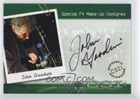 John Goodwin - Special FX Make-Up Designer