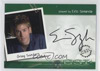 Eric Szmanda as Greg Sanders