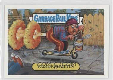 2003 Topps Garbage Pail Kids All-New Series 1 - [Base] #31a - Fartin' Martin