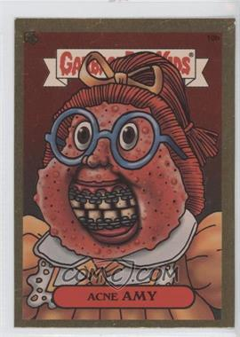 2003 Topps Garbage Pail Kids All-New Series 1 - Foil Stickers - Gold #10b - Acne Amy
