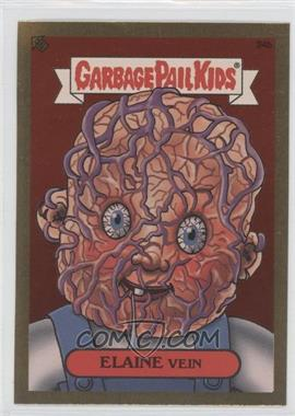 2003 Topps Garbage Pail Kids All-New Series 1 - Foil Stickers - Gold #24b - Elaine Vein