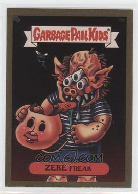 2003 Topps Garbage Pail Kids All-New Series 1 [???] #15 - Zeke Freak