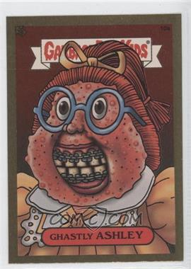 2003 Topps Garbage Pail Kids All-New Series 1 Foil Stickers Gold #10a - Ghastly Ashley