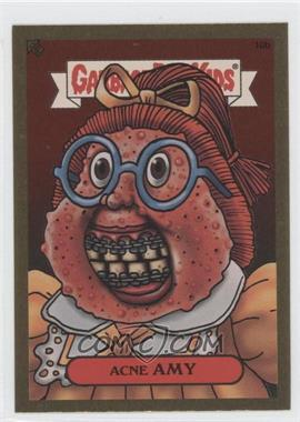 2003 Topps Garbage Pail Kids All-New Series 1 Foil Stickers Gold #10b - Acne Amy