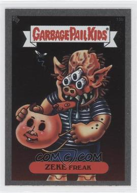2003 Topps Garbage Pail Kids All-New Series 1 Foil Stickers Silver #15b - Zeke Freak