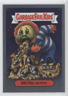 2003 Topps Garbage Pail Kids All-New Series 1 Foil Stickers Silver #18a - Richie Retch