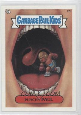 2003 Topps Garbage Pail Kids All-New Series 1 #27 - Punchy Paul