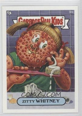2003 Topps Garbage Pail Kids All-New Series 1 #32a - Zitty Whitney