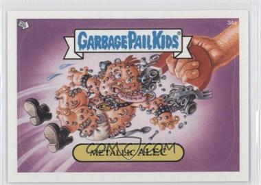 2003 Topps Garbage Pail Kids All-New Series 1 #34 - Metallic Alec