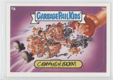 2003 Topps Garbage Pail Kids All-New Series 1 #34a - Metallic Alec