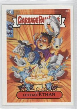 2003 Topps Garbage Pail Kids All-New Series 1 #38a - Lethal Ethan