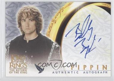 2003 Topps Lord of the Rings: Return of the King Authentic Autograph #N/A - [Missing]