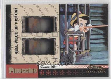 2003 Upper Deck Entertainment Disney Treasures 2 (Donald Duck) Reel Piece of History #PH20 - Pinocchio