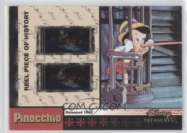 2003 Upper Deck Entertainment Disney Treasures Series 2 Reel Piece of History #PH20 - Pinocchio