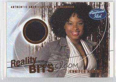2004 Fleer American Idol: Season 3 Reality Bits #RB-JH - Jennifer Hudson
