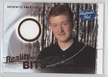 2004 Fleer American Idol: Season 3 Reality Bits #RB-JS - John Stevens