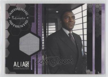 2004 Inkworks Alias Season 3 Piecewords #PW8 - Carl Lumbly as Marcus Dixon