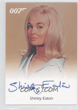 2004 Rittenhouse James Bond: The Quotable James Bond Full-Bleed Autographs #N/A - Shirley Eaton