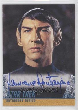 "2004 Rittenhouse The ""Quotable"" Star Trek Original Series - Autographs #A105 - Lawrence Montaigne as Stonn"