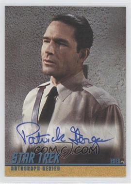 "2004 Rittenhouse The ""Quotable"" Star Trek Original Series - Autographs #A88 - Patrick Horgan as Eneg"