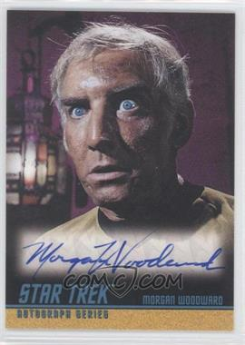 "2004 Rittenhouse The ""Quotable"" Star Trek Original Series - Autographs #A89 - Morgan Woodward as Captain Ronald Tracey"