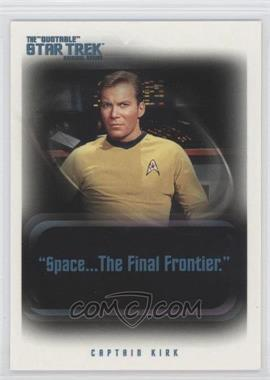 "2004 Rittenhouse The ""Quotable"" Star Trek Original Series - Promos #P1 - Captain Kirk"