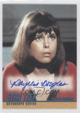 "2004 Rittenhouse The ""Quotable"" Star Trek Original Series Autographs #A93 - Phyllis Douglas as Yeoman Mears"