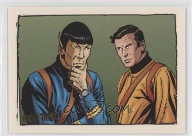 "2004 Rittenhouse The ""Quotable"" Star Trek Original Series Comics #GK6 - When Planets Collide"
