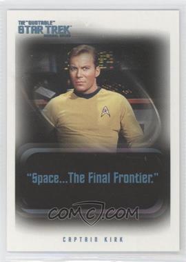 "2004 Rittenhouse The ""Quotable"" Star Trek Original Series Promos #P1 - Captain Kirk"