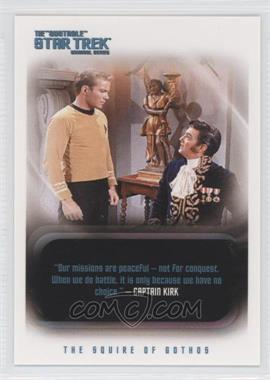 "2004 Rittenhouse The ""Quoteable"" Star Trek Original Series #123 - James T. Kirk"