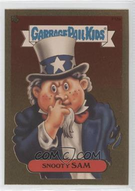 2004 Topps Garbage Pail Kids All-New Series 2 [???] #F12a - Snooty Sam