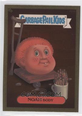 2004 Topps Garbage Pail Kids All-New Series 2 [???] #F21b - Noah Body