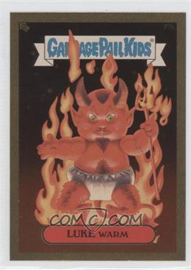 2004 Topps Garbage Pail Kids All-New Series 2 [???] #F7b - Luke Warm